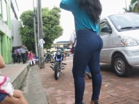 Sexy Ass In Tight Jeans