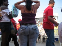 Fat Ass In Jeans