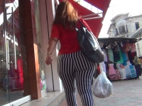 Big Ass In Striped Pants