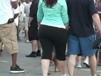 pear shaped white girl with big fat ass