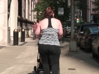 fat ass milf in spandex