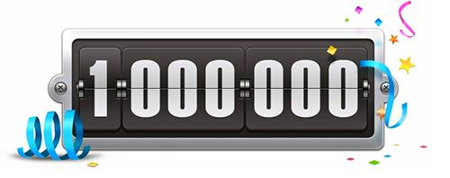 1 million hits