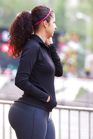 Bubble Butt In Spandex